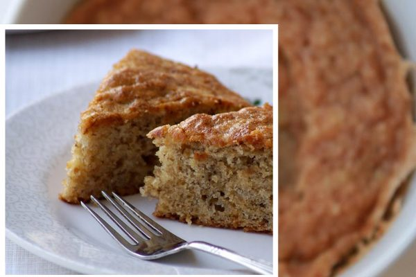 Banana Cake by Microwave