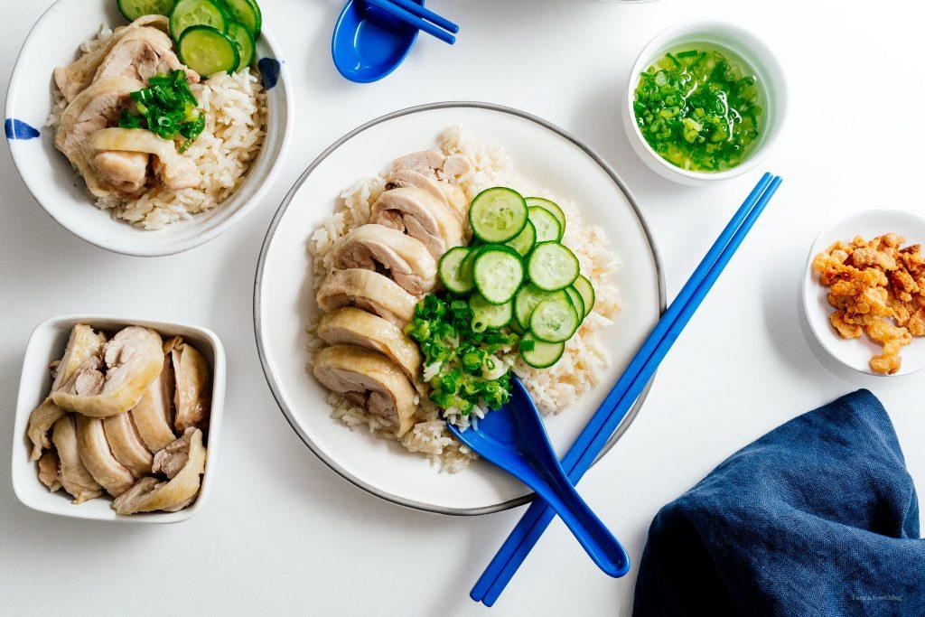 Easy homemade chicken rice