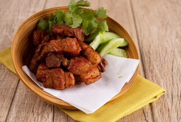 fried pork with fish sauce