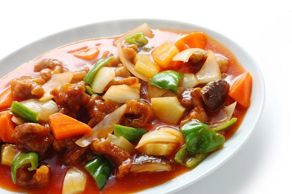 Sweet and Sour Stir Fried